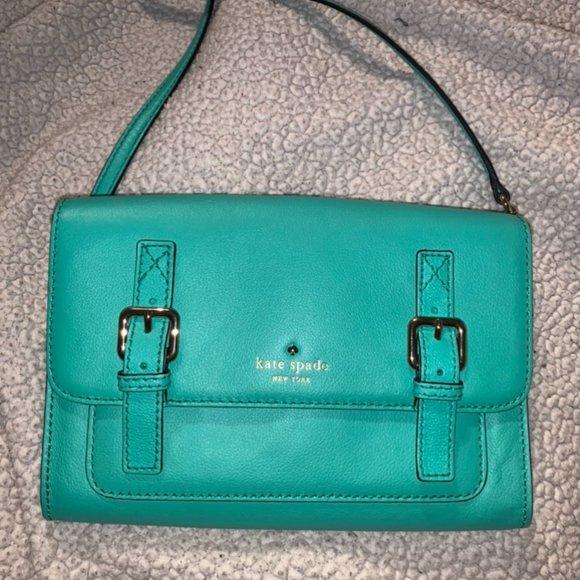 Kate Spade - Teal Crossbody Bag